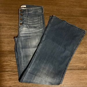 Abercrombie & Fitch 70's Style Denim Jeans